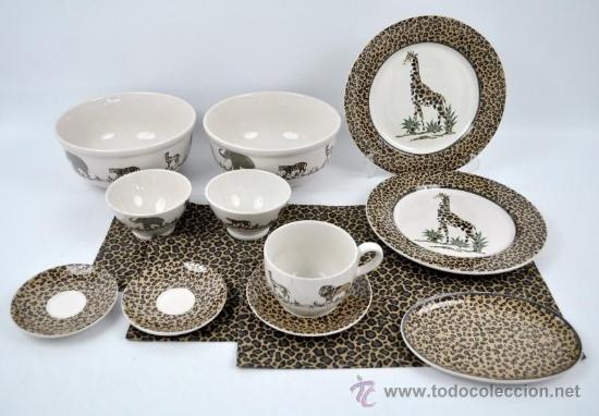 Conjunto de vajilla de porcelana dibujos de jir comprar for Vajilla porcelana
