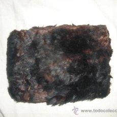 Antigüedades: CURIOSA CARTERA ANTIGUA DE PELO.AÑOS 20-30.. Lote 33377869