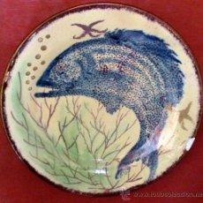Antiquités: PLATO DE EUSEBIO DIAZ COSTA. Lote 33377886