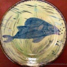 Antigüedades: PLATO DE EUSEBIO DIAZ COSTA. Lote 33378217