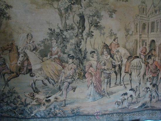 Antigüedades: GRAN TAPIZ - Foto 2 - 33406352