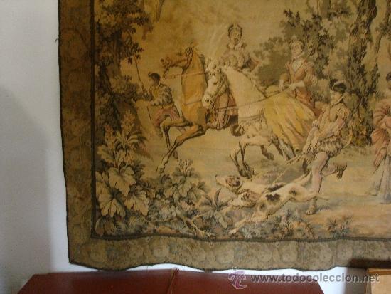 Antigüedades: GRAN TAPIZ - Foto 3 - 33406352