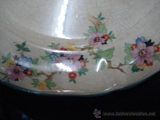 Antigüedades: precioso plato alcora - Foto 2 - 33409517