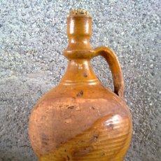 Antigüedades: ANTIGUO CANTARO O ACEITERA DE BARRO.. Lote 33416476