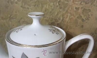 Antigüedades: Preciosa tetera de porcelana marca Oxford Fine ware made in spain. - Foto 4 - 33420113