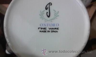Antigüedades: Preciosa tetera de porcelana marca Oxford Fine ware made in spain. - Foto 5 - 33420113