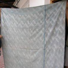 Antigüedades: COLCHA DE ALGODON Y SEDA AÑOS 20-40. Lote 33428251