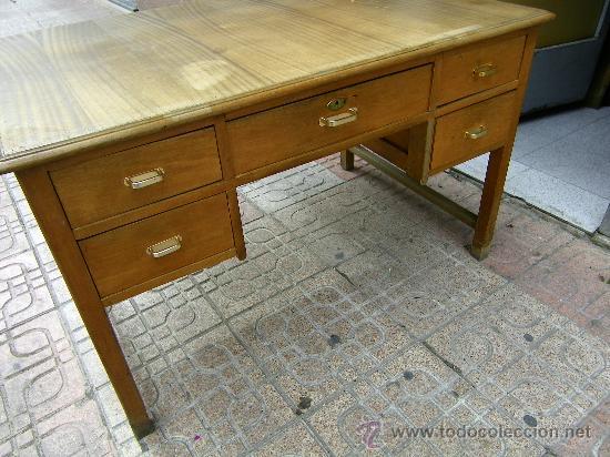 mesa despacho-antigua - Comprar Mesas de Despacho Antiguas en ...