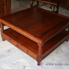 Antigüedades: MESA DE CENTRO,CEREZO REF.5265. Lote 33447011