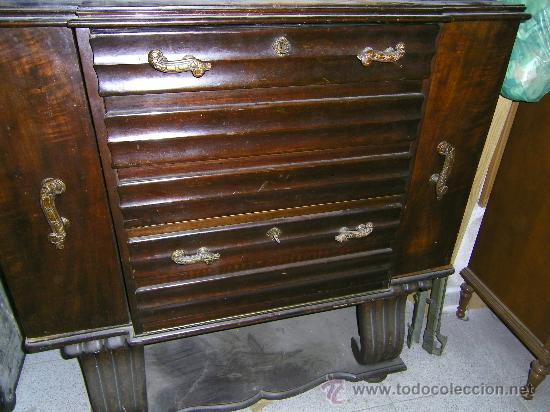 Mueble bar antiguo clasico comprar muebles auxiliares - Mueble auxiliar clasico ...