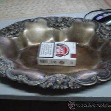 Antigüedades: BANDEJA DE METAL REPUJADO. Lote 33457902