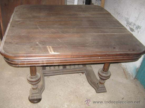 magnífica mesa de comedor alfonsina para restau - Comprar Mesas ...