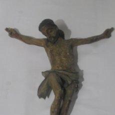 Antigüedades: CRISTO MADERA 28 X 24 CM. PRINCIPIOS SIGLO XX. Lote 33471858