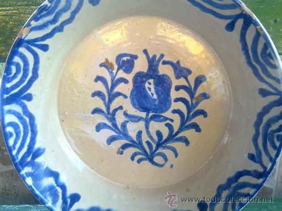 Antigüedades: antigua fuente de fajalauza. - Foto 2 - 33474053