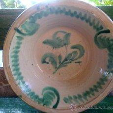 Antigüedades: ANTIGUO LEBRILLO DE FAJALAUZA. Lote 131845173