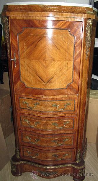 Precioso mueble antiguo sinfonier con marqueter comprar - Mueble sinfonier ...