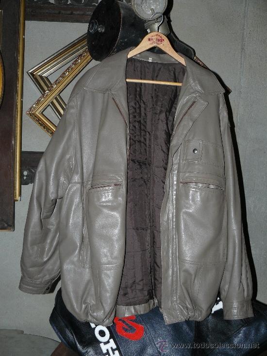 Talla Piel Hombre De Moda Para Comprar 64 Antigua Chaqueta CwgIqx5q 770ee7f3b4d