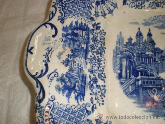 Antigüedades: Bandeja cuadrada Pickman La Cartuja - Vistas - - Foto 4 - 33499761