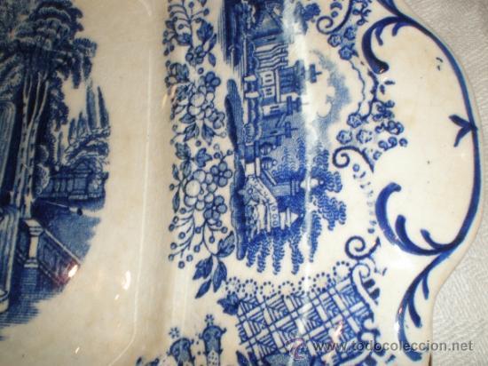 Antigüedades: Bandeja cuadrada Pickman La Cartuja - Vistas - - Foto 7 - 33499761