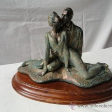 Antigüedades: FIGURA ENAMORADOS.. Lote 33511926