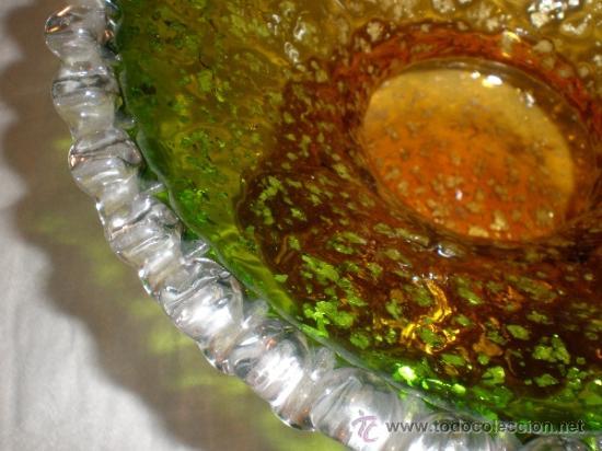 Antigüedades: centro de cristal - Foto 4 - 33515396