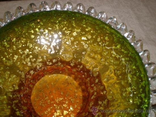 Antigüedades: centro de cristal - Foto 5 - 33515396