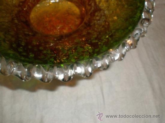 Antigüedades: centro de cristal - Foto 6 - 33515396