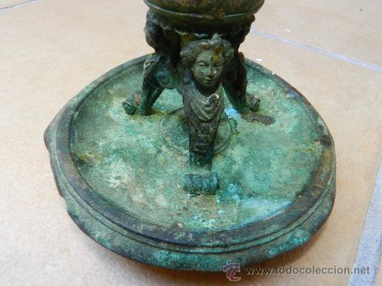 Antigüedades: ANTIGUO CANDELABRO O PALMATORIA , MEDIADOS SIGLO XIX ESTILO VICTORIANO - Foto 7 - 33448639