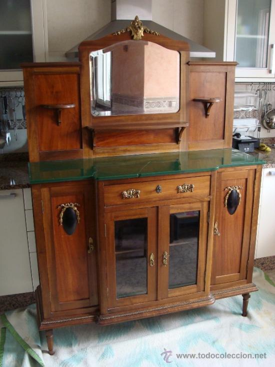 Antiguo aparador modernista de sal n mueble comprar - Muebles de salon antiguos ...