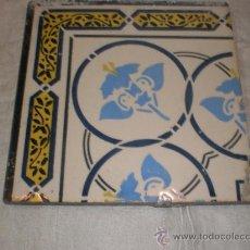 Antigüedades: AZULEJO MODERNISTA. Lote 33528813