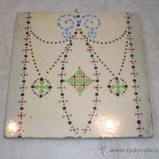 Antigüedades: AZULEJO MODERNISTA. Lote 33528826