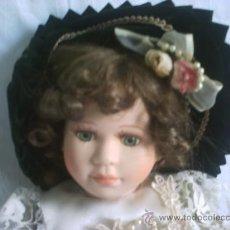 Muñecas Porcelana: MUÑECA ANTIGUA DE PORCELANA. Lote 33529749
