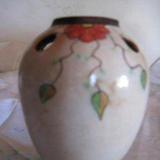 Antigüedades: JARRONCITO DE CERAMICA VIDRIADA - PIEZA UNICA.. Lote 33543166