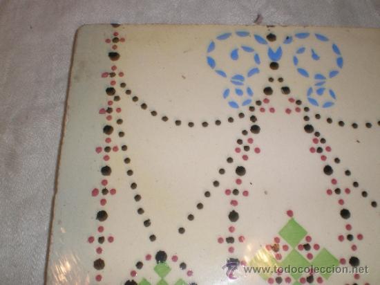 Antigüedades: azulejo modernista - Foto 4 - 33528826