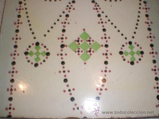 Antigüedades: azulejo modernista - Foto 2 - 33528826
