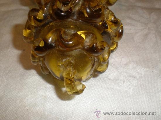 Antigüedades: centro para colgar de cristal de guardiola - Foto 6 - 33528702