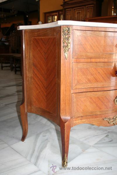 Antiques: CÓMODA LUIS XV,1920 REF.5280 - Foto 3 - 33540894