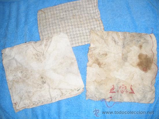 ANTIGUOS TRAPOS DE HILO CON ALGUN BORDADO.AÑO 1879? (Antigüedades - Moda - Bordados)