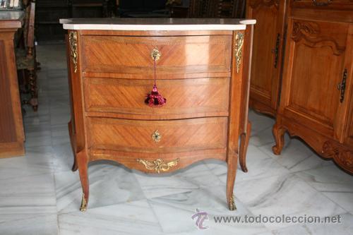 CÓMODA LUIS XV,1920 REF.5280 (Antiques - Antique Furniture - Antique Chests of Drawers)