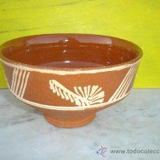 Antigüedades: CUENCO DE BARRO. Lote 33556266