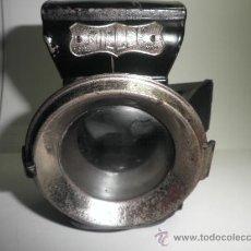 Antigüedades: ANTIGUO FAROL DE COCHE O BICICLETA H. MILLER. Lote 163555760