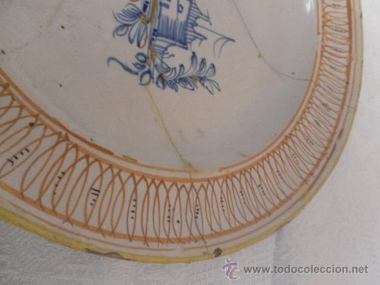Antigüedades: Plato de Cerámica de Manises ó Ribesalbes. Siglo XIX - Foto 6 - 33563239