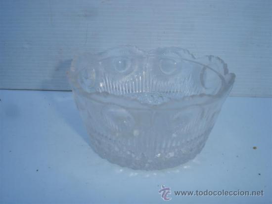 PEQUEÑO CUENCO CRISTAL (Antigüedades - Cristal y Vidrio - Otros)