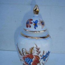 Antigüedades: JARRON PORCELANA VISTAALEGRE. Lote 33610748