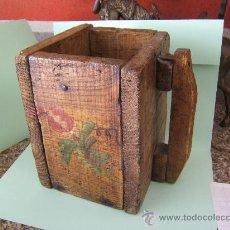 Antigüedades: MEDIDA GRANO ARAGONESA O ALMUZ. Lote 33630845