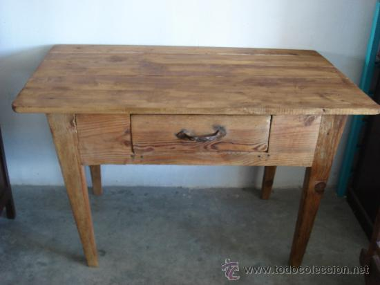 Antigua mesa rustica de cocina - Vendido en Venta Directa - 33644326