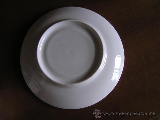 Antigüedades: !!ANTIGUO JUEGO DE CAFÉ PARA ENAMORADOS !!, 2 PLATOS Y 2 TAZAS. - Foto 9 - 33648964