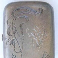 Antigüedades: MONEDERO EN PLATA. RUSIA. 1900.MOSCU.EXTRAORDINARIO GRABADO.PUNZONADO.PETR ABROSIMOV. Lote 33663799