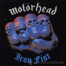 Discos de vinilo: LP MOTORHEAD IRON FIST HEAVY METAL VINILO. Lote 33671473