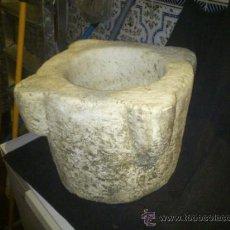 Antigüedades: MORTERO. MARMOL. Lote 33690775